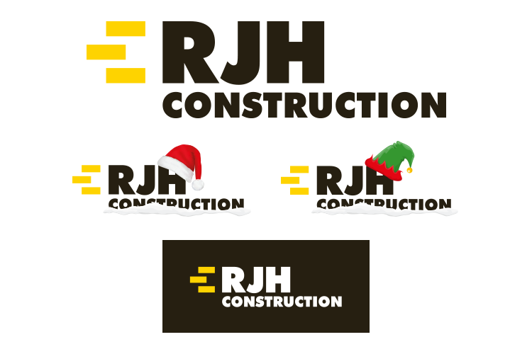 RJH Construction logo